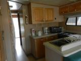 52 foot Houseboat Kitchen
