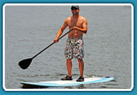 Stand Up Paddle Board Rentals at Lucerne Valley Marina
