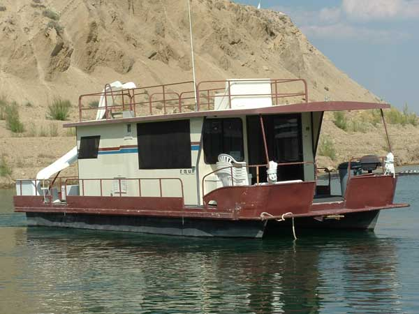 Houseboat Rentals on Flaming Gorge Reservoir