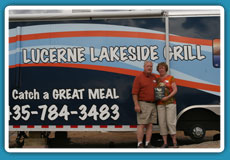 Lucerne Lakeside Grill at Flaming Gorge Reservoir in Utah.